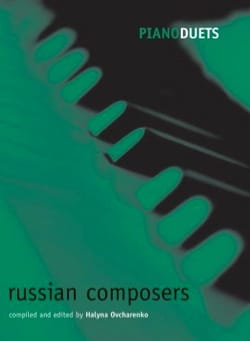 Russian Composers. 4 mains Partition Piano - laflutedepan