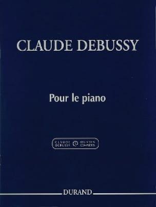 Pour le Piano - DEBUSSY - Partition - Piano - laflutedepan.com