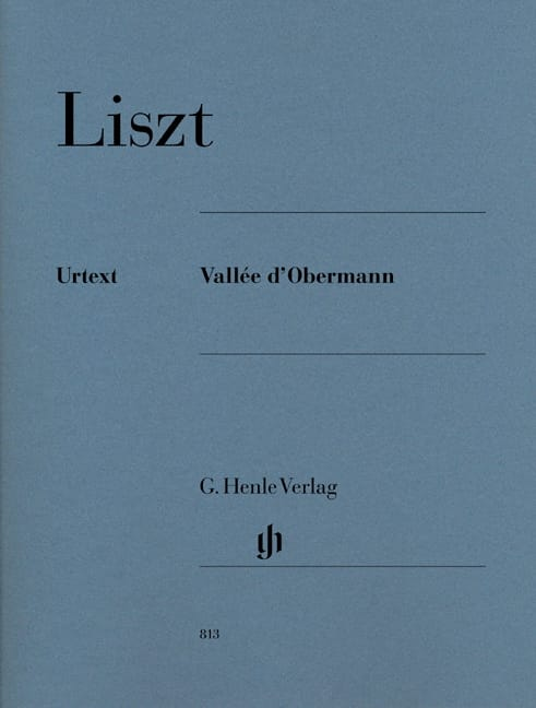 Vallée d' Obermann - LISZT - Partition - Piano - laflutedepan.com