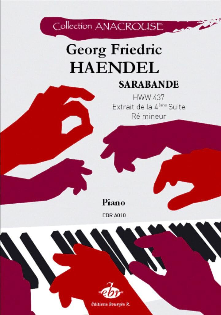 Sarabande Hwv 437 - HAENDEL - Partition - Piano - laflutedepan.com