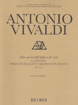 VIVALDI - Alla Caccia Dell'alme E From 'Cori RV 670 - Partition - di-arezzo.com