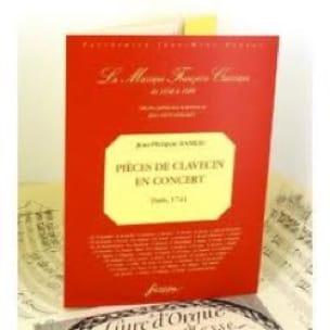 Pièces De Clavecin En Concert - RAMEAU - Partition - laflutedepan.com