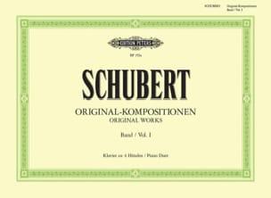 Original Kompositionen Volume 1. 4 Mains SCHUBERT laflutedepan