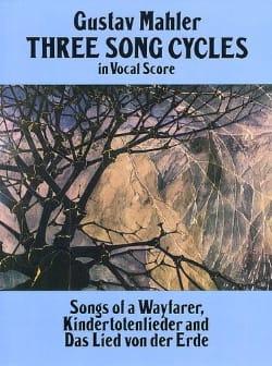 Three Song Cycles MAHLER Partition Mélodies - laflutedepan