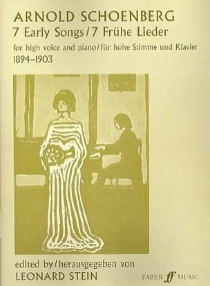 7 Early songs SCHOENBERG Partition Mélodies - laflutedepan