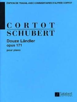 12 Landler, Op. 71 SCHUBERT Partition Piano - laflutedepan