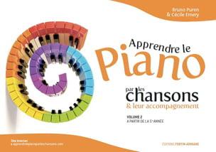 Apprendre le piano par les chansons et leur accompagnement Volume 2 laflutedepan