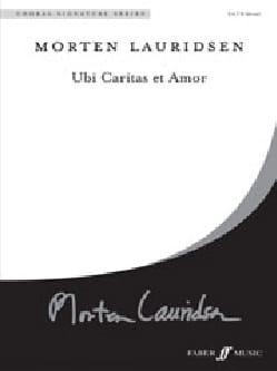 Morten Lauridsen - Ubi Caritas and Amor - Partition - di-arezzo.com