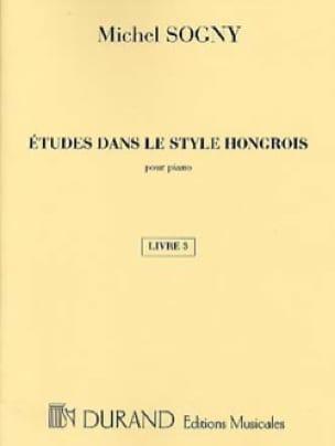 Etudes Dans le Style Hongrois Livre 3 - laflutedepan.com