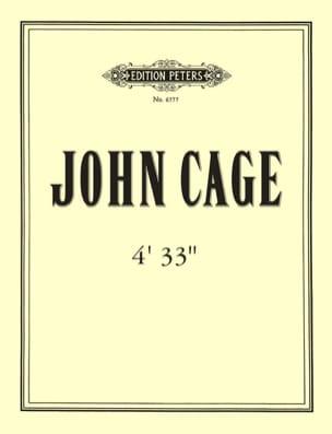 4'33'' CAGE Partition Piano - laflutedepan