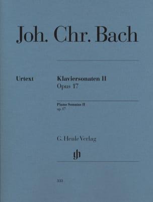 Sonates pour piano Opus 17 Johann Christian Bach laflutedepan