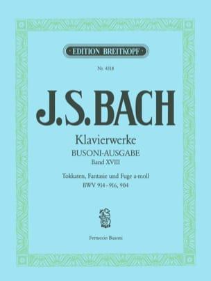 Toccatas, Fantasie et Fugue En la Min BWV 904. Volume 18 laflutedepan