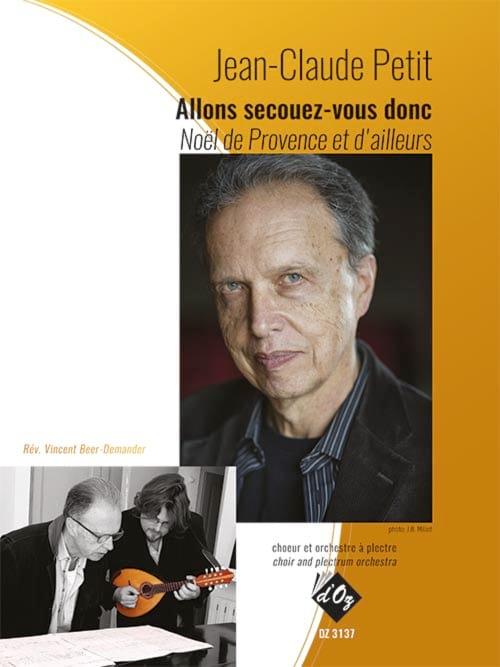Allons secouez-vous donc - Jean-Claude PETIT - laflutedepan.com
