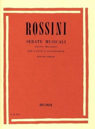 Gioachino Rossini - Serate Musicali Volume 2 - Partition - di-arezzo.fr