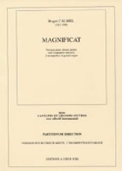 Magnificat 1ère Version Roger Calmel Partition Chœur - laflutedepan