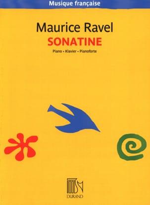 Sonatine RAVEL Partition Piano - laflutedepan