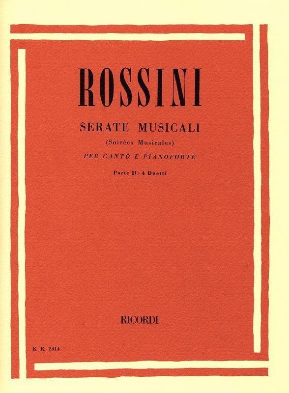 Serate Musicali Volume 2 - ROSSINI - Partition - laflutedepan.com