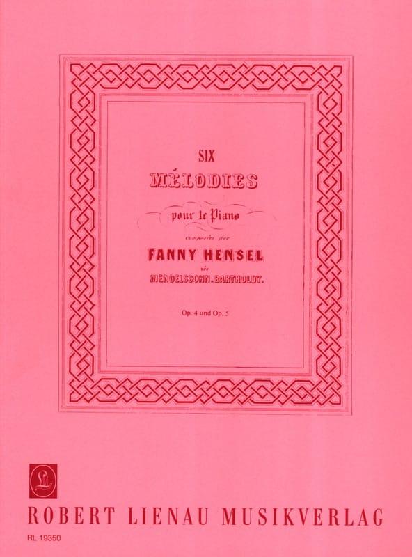 6 Mélodies Pour le Piano Opus 4 et Opus 5 - laflutedepan.com