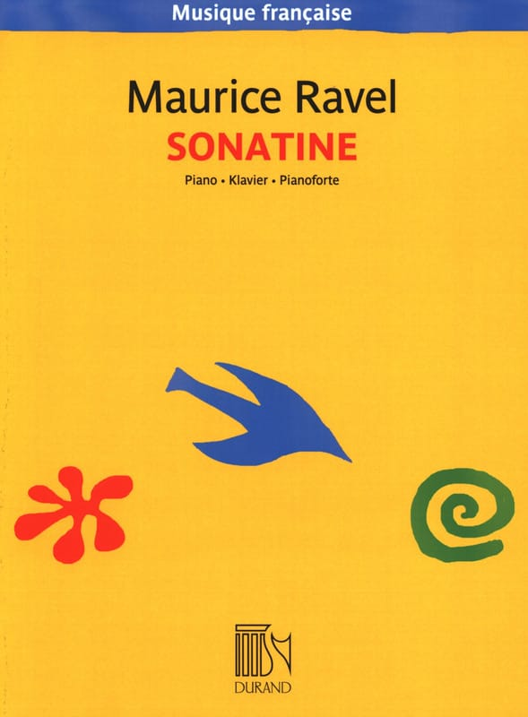 Sonatine - RAVEL - Partition - Piano - laflutedepan.com