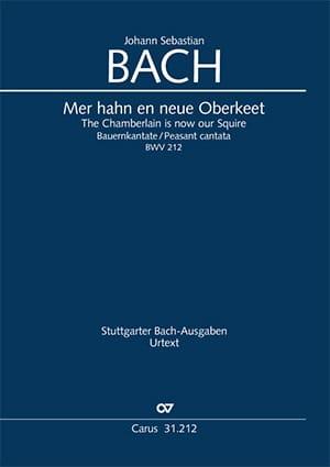 Cantate 212 Mer Hahn En Neue Oberkeet - BACH - laflutedepan.com