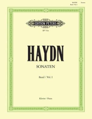 Sonates Volume 1 HAYDN Partition Piano - laflutedepan