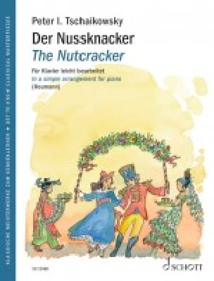 Der Nussknacker Opus 71 TCHAIKOVSKY Partition Piano - laflutedepan