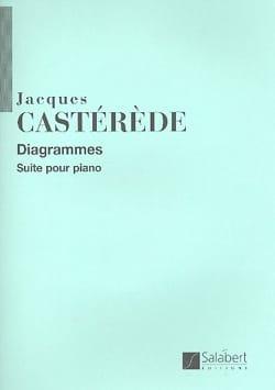 Diagrammes Jacques Castérède Partition Piano - laflutedepan