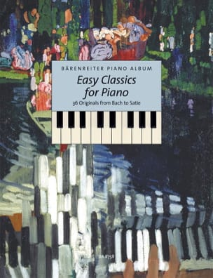 Easy Classics For Piano Partition Piano - laflutedepan