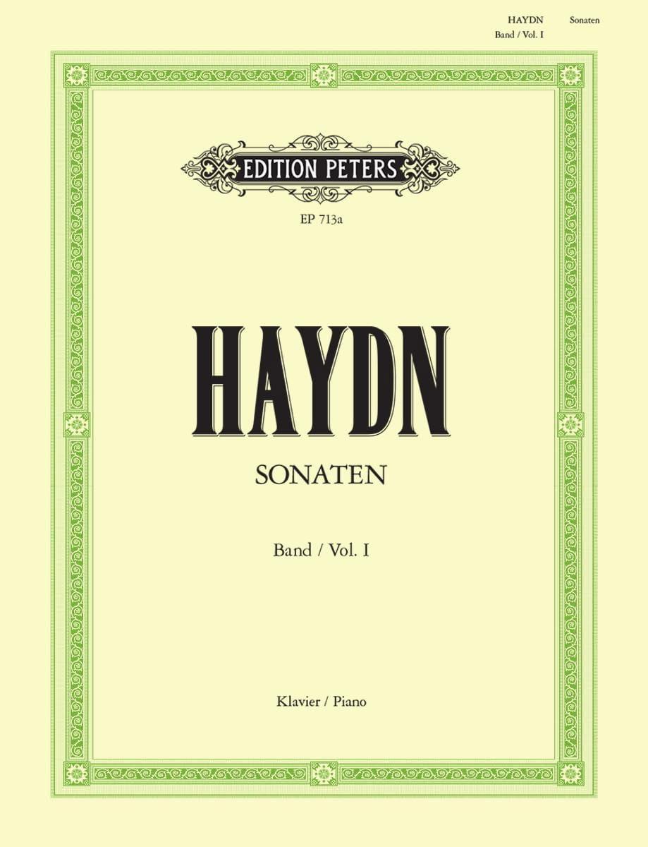 Sonates Volume 1 - HAYDN - Partition - Piano - laflutedepan.com