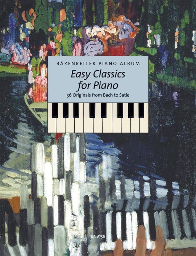 Easy Classics For Piano - Partition - Piano - laflutedepan.com