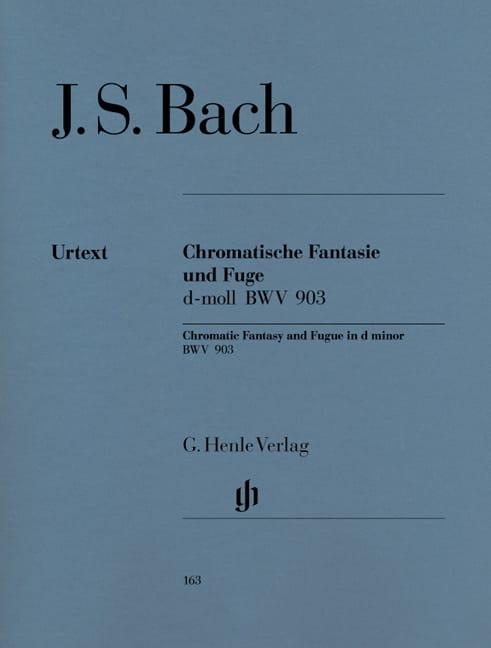 Fantaisie Chromatique et Fugue Ré mineur BWV 903 et 903a - laflutedepan.com