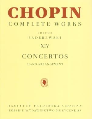 Concertos Opus 11 et 21 CHOPIN Partition Piano - laflutedepan