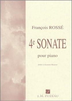 4ème Sonate François Rossé Partition Piano - laflutedepan