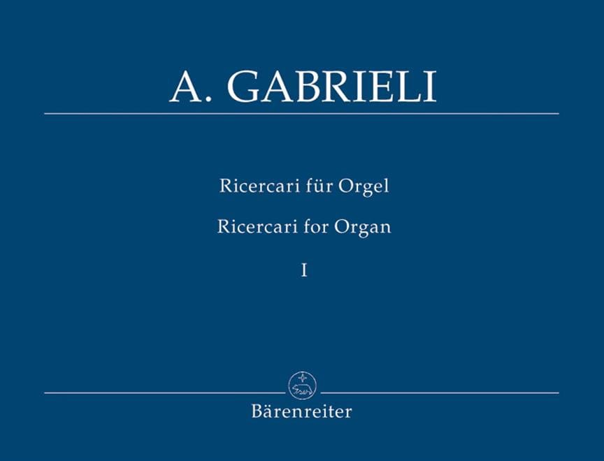 Ricercari Vol 1 Nr. 1-9. - Gabrieli - Partition - laflutedepan.com
