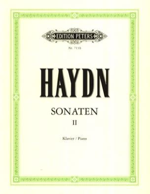 Sonates Volume 2 - HAYDN - Partition - Piano - laflutedepan.com