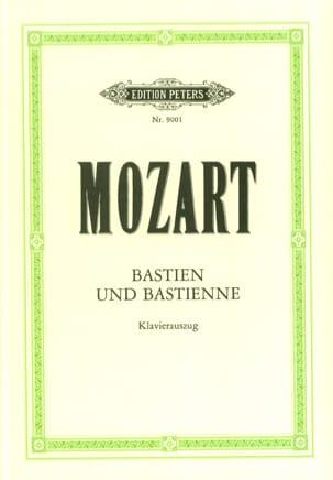 Bastien Und Bastienne K 50 46b - MOZART - Partition - laflutedepan.com