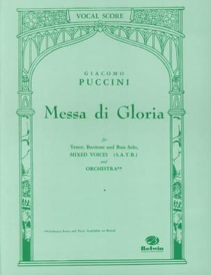 Messa di Gloria PUCCINI Partition Chœur - laflutedepan