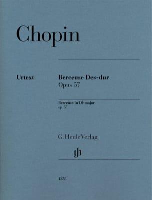 Berceuse en Ré bémol majeur op. 57 CHOPIN Partition laflutedepan