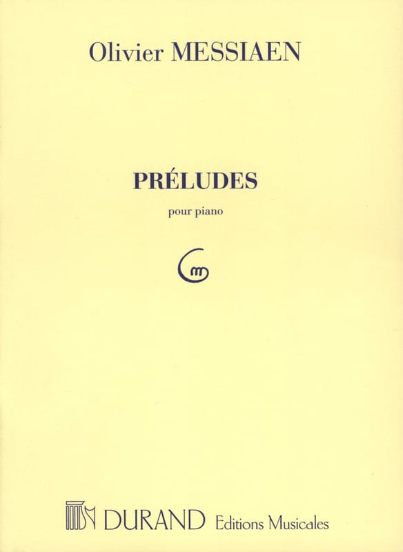 8 Préludes. - MESSIAEN - Partition - Piano - laflutedepan.com