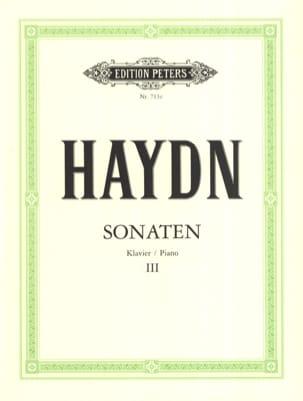 Sonates Volume 3 HAYDN Partition Piano - laflutedepan