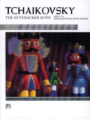 The Nutcracker Suite Opus 71a. 4 Mains TCHAIKOVSKY laflutedepan