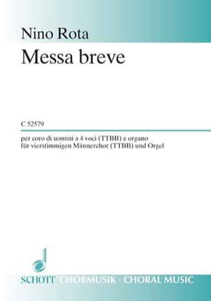 Messa Breve ROTA Partition Chœur - laflutedepan