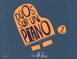 Duos sur un Piano Volume 2 Partition Piano - laflutedepan