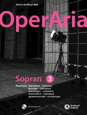 OperAria Soprano - Volume 3 Partition Recueils - laflutedepan
