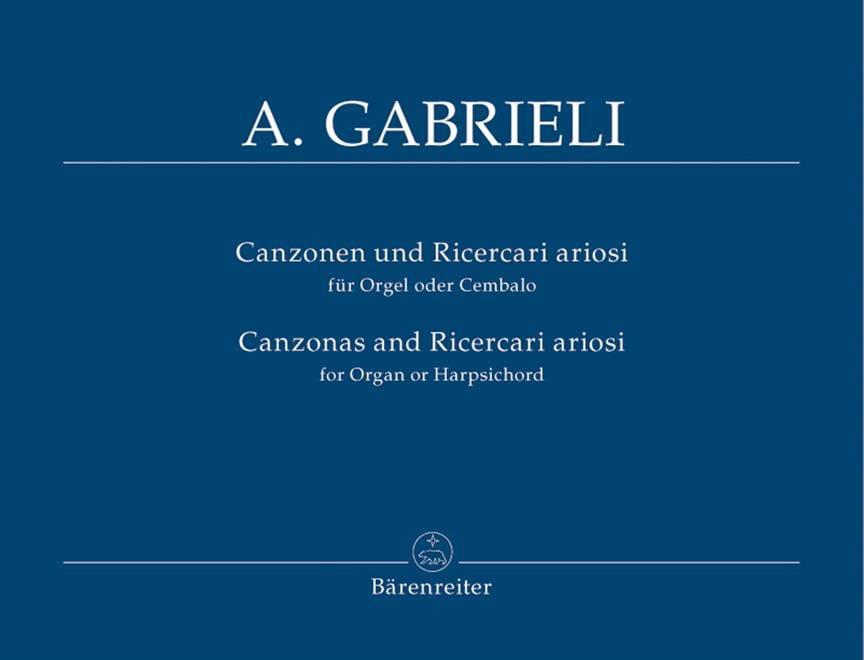 Canzonen Und Ricercari Ariosi 1-13 - laflutedepan.com