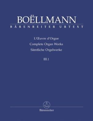 Oeuvre d'Orgue Volume 3-1 Léon Boëllmann Partition laflutedepan