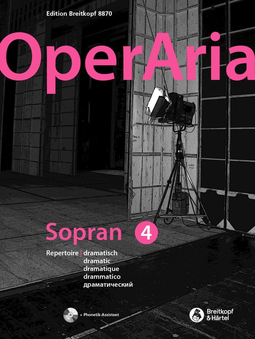 OperAria Soprano - Volume 4 - Partition - laflutedepan.com