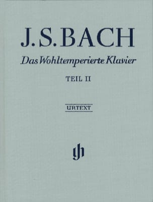 Le Clavier Bien Tempéré Livre 2 Edition Reliée BACH laflutedepan