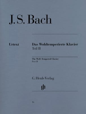 BACH - The Well Tempered Keyboard Volume 2 - Partition - di-arezzo.co.uk