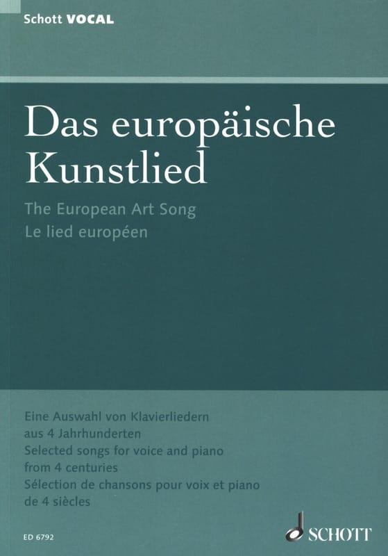 Das Europäische Kunstlied - Partition - laflutedepan.com